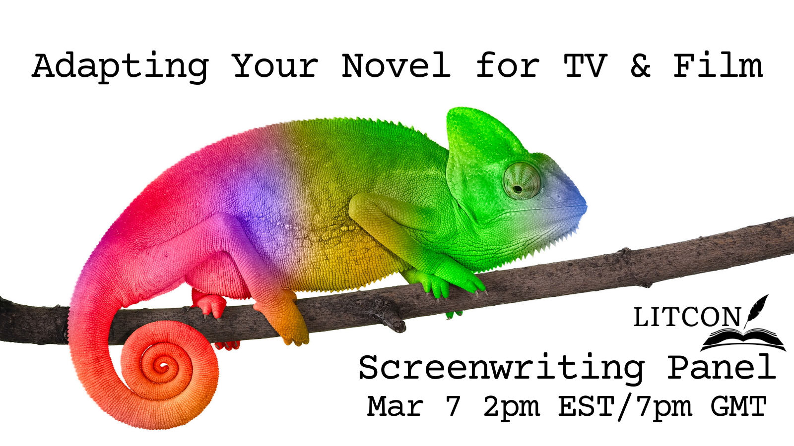 LitCon 2021 – Adapting Your Novel for TV and Film Panel Discussion