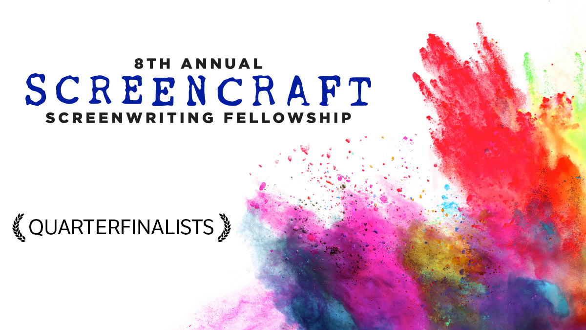 I'm a Quarterfinalist for the 2021 ScreenCraft Screenwriting Fellowship